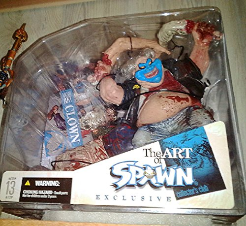 The Art of Spawn Exclusive Collector's Club Clown McFarlane