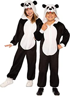 Forum Novelties Child's Panda Costume Jumpsuit, As Shown, Medium