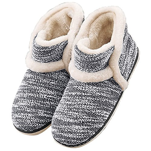 GaraTia Winter Vintage Boot Womens Slippers Arctic Solid Indoor...