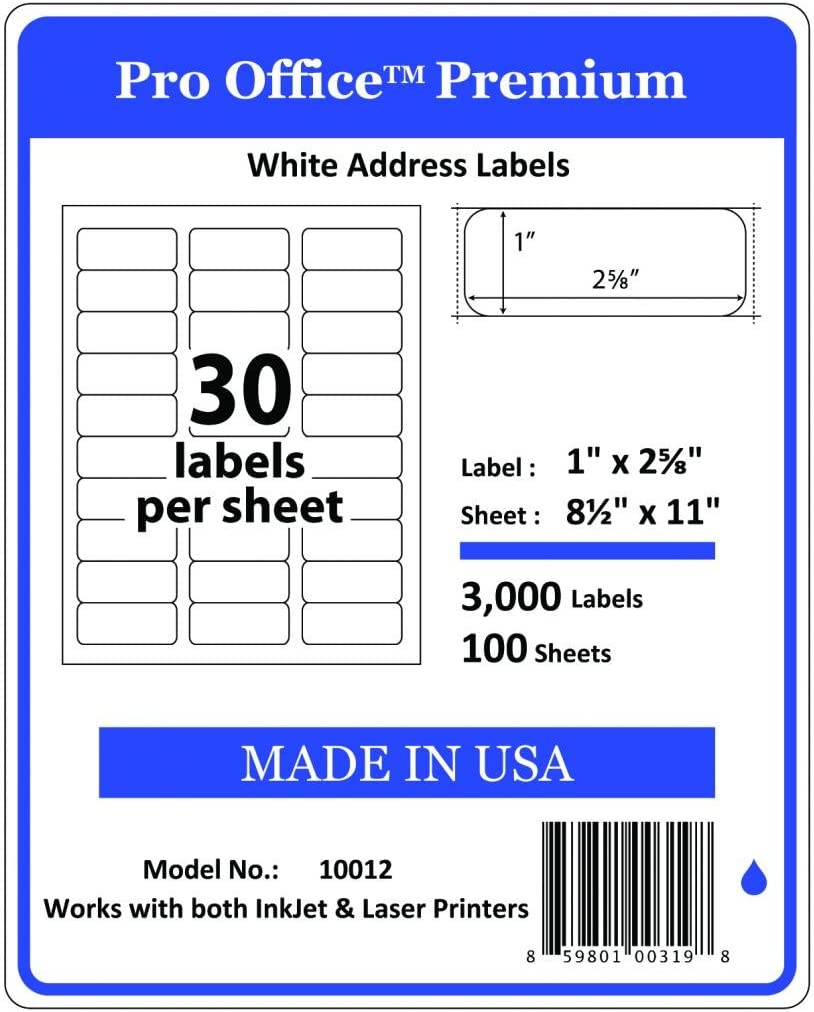 Wing Office Premium Surprise price Special sale item Self-Adhesive Address Laser Labels Print for