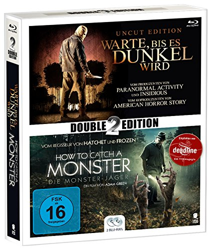 Mystery Double Pack 2: Warte, bis es dunkel wird & How to Catch a Monster [Blu-ray] (Double2Edition)