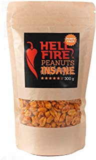I LOVE SPICY Hellfire Pinda's Krankzinnig (Carolina Reaper Chili) Feestpakket 300 g Heetheid 5/5