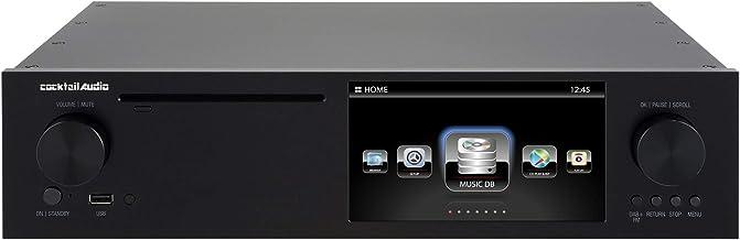 $2495 » Cocktail Audio X50D Roon Ready TIDAL Streamer/CD/DAC/FM Tuner (Black)