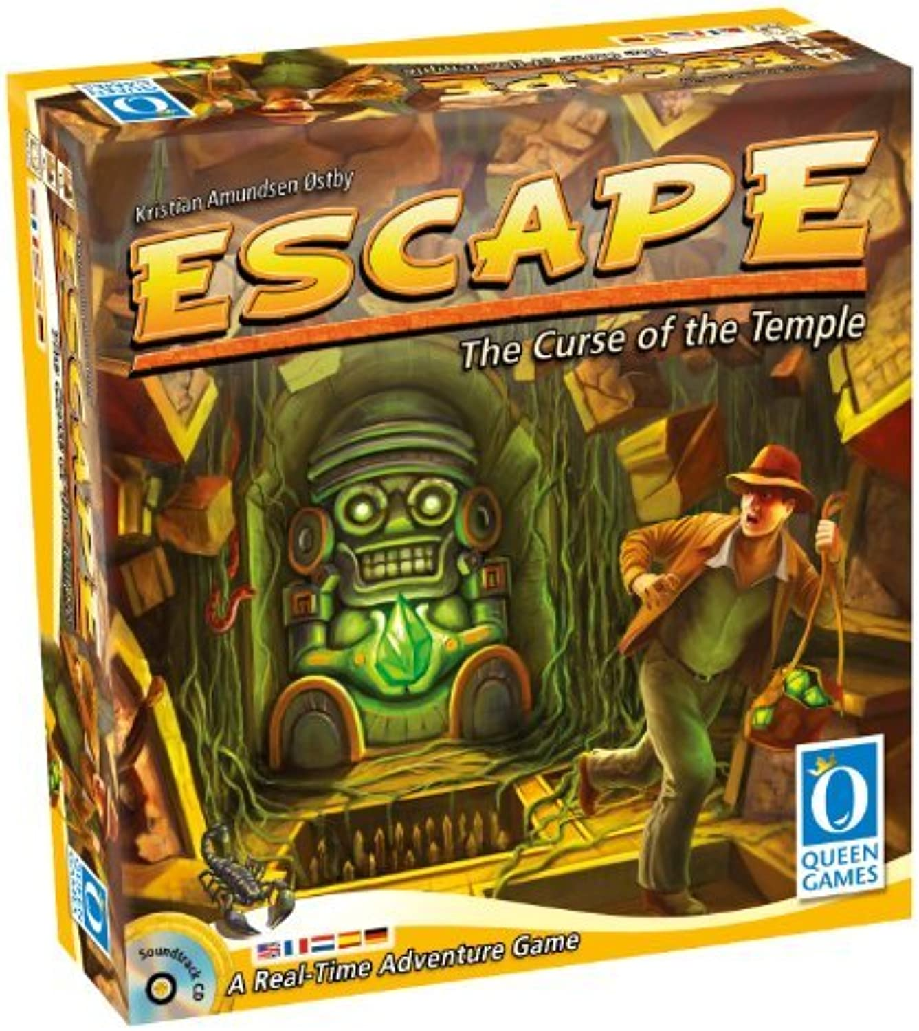 Escape  The Curse of the Temple by Queen Games by Queen Games