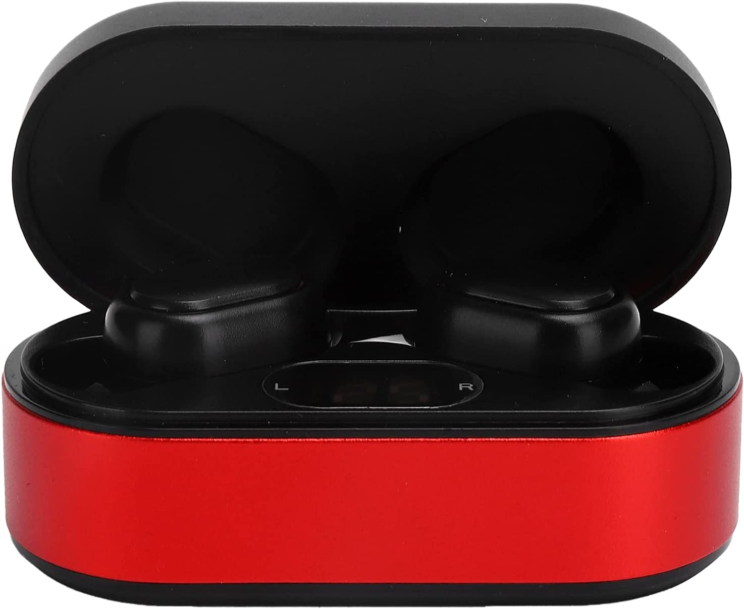 Wireless Intelligent Bluetooth Headset,3D Sound Effects,Three‑Frequency Adjustment, Low Frequency Shock, High Performance for Various Situations(Red)