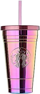 海外限定 スタバ サマーコールドカップタンブラー Starbucks SS Summer Gradation Coldcup Tumbler 473ml [並行輸入品] (Gradation)