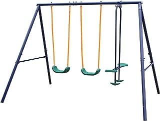 Movement God Metal A-Frame Swing Set