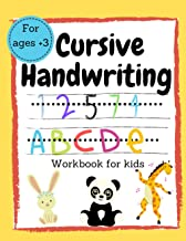 Cursive Handwriting Workbook for kids: Practice for kids: Preschool with Sight workds for Pre-K, Kindergarten and Kids Age...