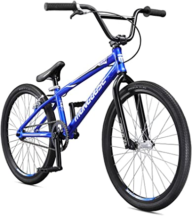 Mongoose Title 24 BMX Race Bike for Beginner or Returning Riders, Featuring Lightweight Tectonic T1