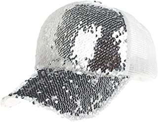 MKJNBH Fashion Unisex Sequins Mesh Casual Baseball Cap Women and Men Patchwork Sun Hat