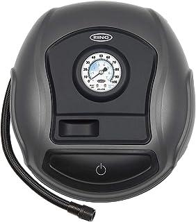 Ring RTC100 Inflador de neumáticos analógico, Sin luz LED