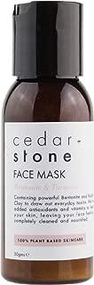 Cedar and Stone - Organic Bentonite & Turmeric Face Mask, 30 Grams