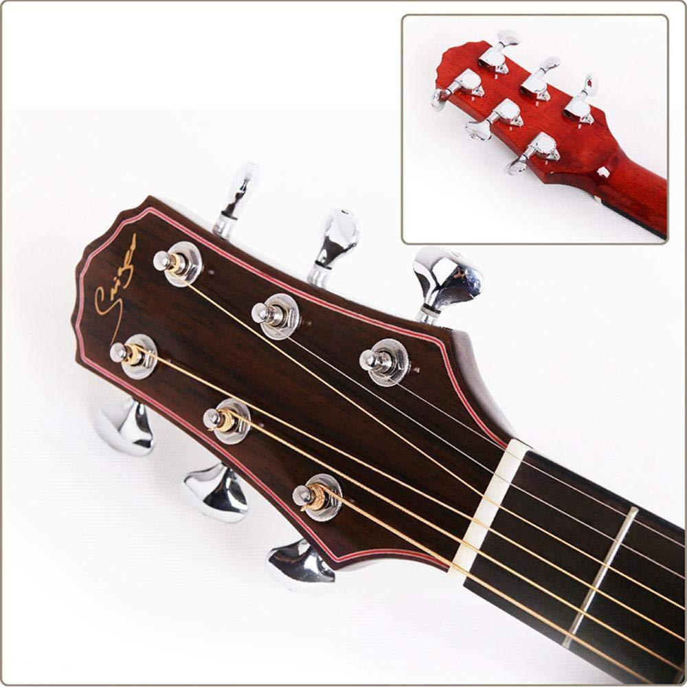 Hjyi La Guitarra acústica de Chapa de Abeto La Cara de núcleo de ...