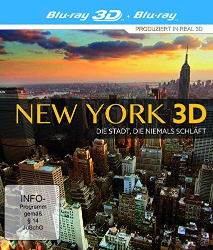 New York 3D: Die Stadt, die niemals schläft [Blu-ray 3D]