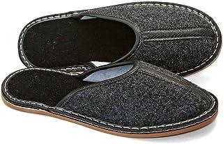 Revise Pantoufles en Feutre - Chaussures Maison pour Hommes - Semelle en Gomme – Taille 43