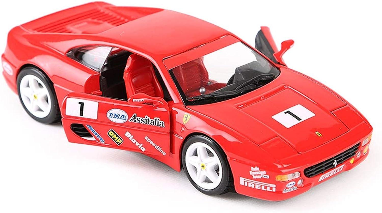 Centro comercial profesional integrado en línea. FDHLTR Modelo de Coche Coche 1 24 Ferrari F355 F355 F355 Desafío Simulación Aleación de fundición Juguete Joyas Deportes Colección de Coches Joyería 17.5x8x4.5 CM Modelo de Auto  producto de calidad