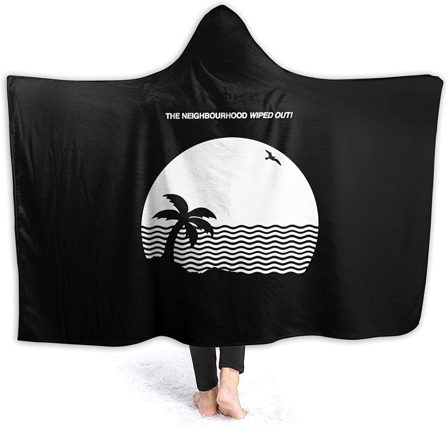 Hooded Blanket Poncho San Jose Mall The Now on sale Neighbourhood Wiped I Out and You Love