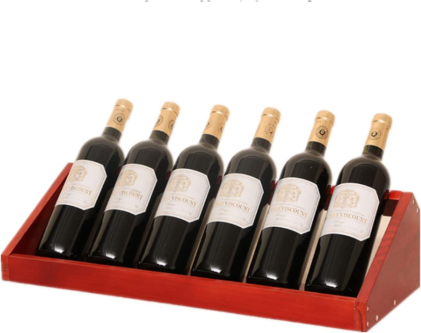 Shipping included Small Wine Safety and trust Racks Countertop Holder Tabletop Bottle Counter