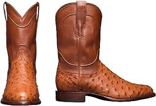 YQY Hommes Boot, Hiver Chaud Quotidien à Bout Rond Semelle épaisse en Fausse Fourrure en Cuir Haut Basses Bottines Coton,O...