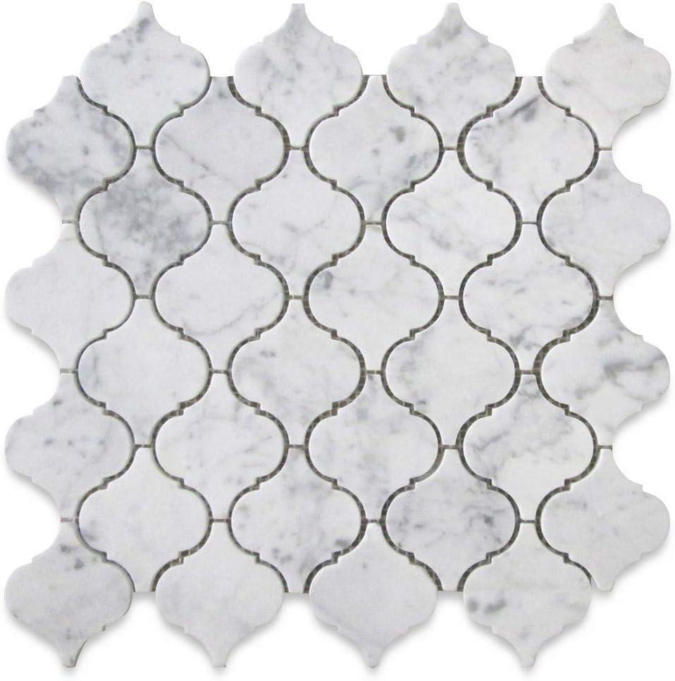 Stone New color Center Online Carrara Ranking TOP17 White Baroqu Arabesque Medium Marble