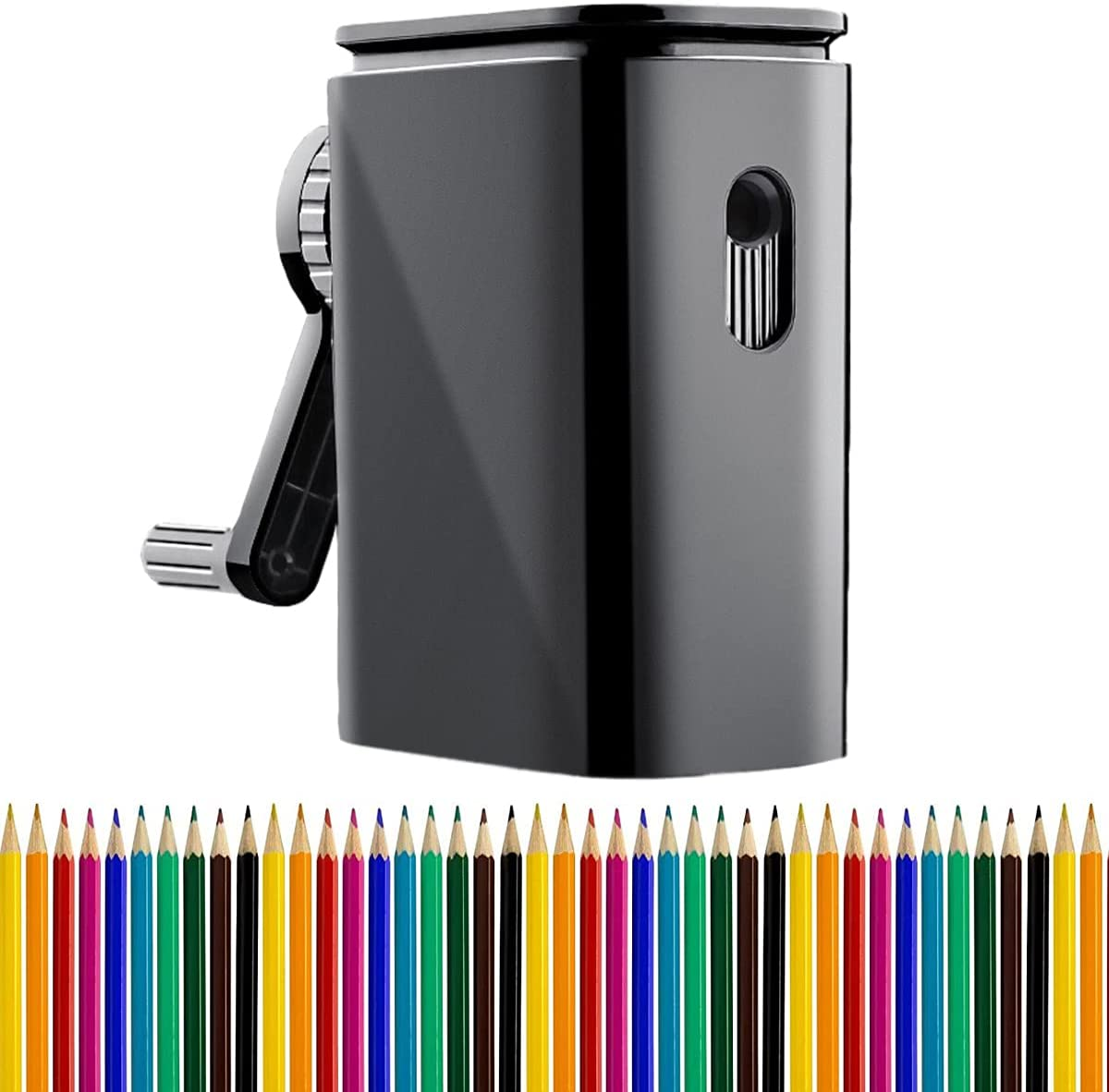 KUMADAI Special price for a limited time Pencil Sharpener Manual Ultra-Cheap Deals for Kids Colored Pencils 6-8mm