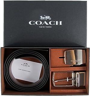 (コーチ) COACH メンズ カット トゥ サイズ リバーシブル レザーベルト ギフトセット ブラック&ダークブラウン F65185 AQ0 [並行輸入品]
