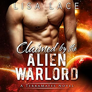 Claimed by the Alien Warlord audiobook cover art