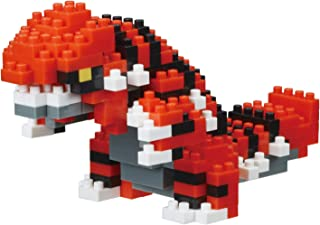 Nanoblock NBPM_062 Pokemon Groudon Building Kit…