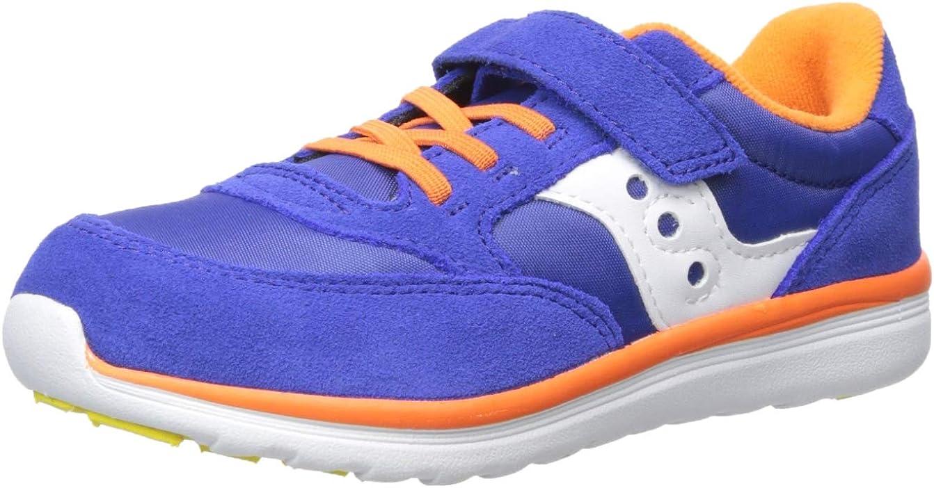 Saucony Baby mart Denver Mall Jazz Lite Sneaker blue 060 multi Toddler US Wide