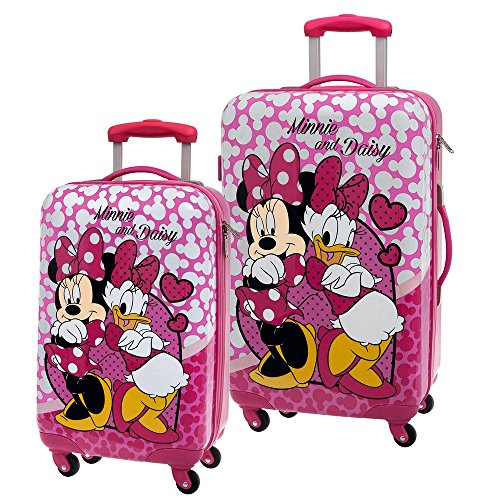 Disney Minnie et Daisy Nice Day Set de Bagage, 67 cm, Rose