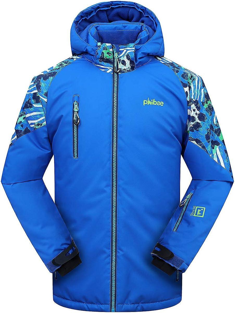 2021 Victrax Big Boy's Ski Jacket Waterproof W Inventory cleanup selling sale Youth Snow Kids