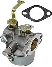 LotFancy Carburetor for Tecumseh 640152A 640023 640051 640140 640152 640260B HM80 HM90 HM100 8-10 HP Engines Snowblower Craftsman Mower Coleman 5000w Generator