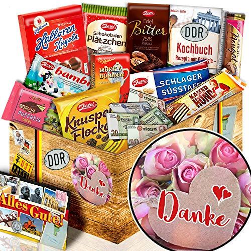 Danke - Geschenk Danke für alles - Ossi Paket Schokolade L