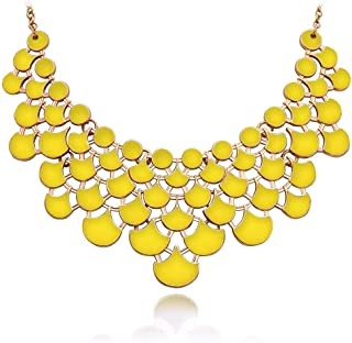 Necklace Vintage Openwork Bib Statement Jewelry
