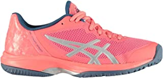 Official Brand Asics Gel Court Speed Womens Tennis Shoes Trainers Pink Ladies Sports Footwear