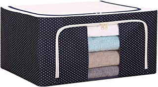 YLKCU Caisses de Rangement Boîte de Rangement de vêtements Pliable vêtements Couette boîte de Finition en Tissu Armoire bo...