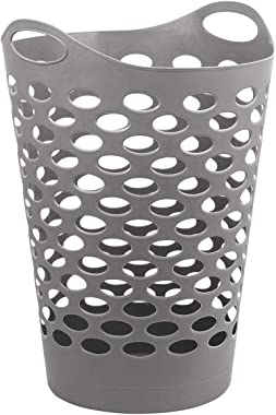 Haus Alchemy LARGE 70L Laundry Basket with Handles Hamper Basket Bin for Bedroom Storage Well-Holding Flexible Odour Free Lau