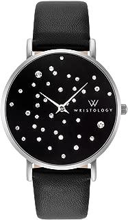 WRISTOLOGY Stella - 2 Options - Womens Silver Midnight Crystal Watch
