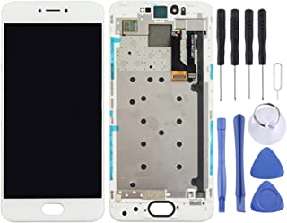 SHUHAN LCD Screen Phone Repair Part For Meizu Pro 6 LCD Screen and Digitizer Full Assembly with Frame Mobile Phone Accessory