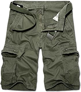 AKARMY Must Way Men's Lightweight Cargo Shorts Utility Work Short Outdoor Twill Shorts with 8 Pockets