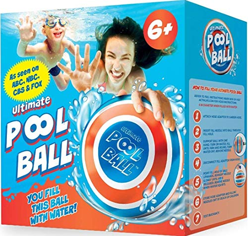 The Ultimate Pool Ball - Fun Pool Toys & Outdoor Gifts for Kids Age 6, 7 & 8-10 Year Old - Cool Pool Toy for Boys & Girls Water Sports - Play Unique Summer Family Games Underwater Swimming Accessories