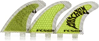 FCS GMB Performance Core Surfboard Tri Fin Set - Fluoro