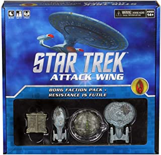 Wizkids CMG Star Trek Attack Wing Borg Faction Pack Resistance is Futile