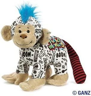 Webkinz Rockerz Monkey 8.5