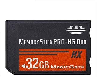 SHEAWA Memory Stick MS Pro Duo - Tarjeta de Memoria para cámara Sony (8 GB 16 GB 32 GB 64 GB PSP y Cybershot)