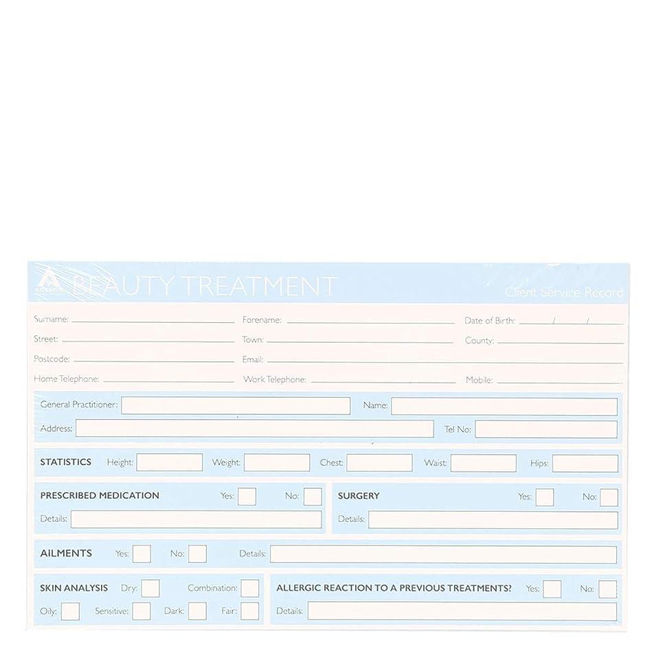 カスケード記念日修理可能記録カード Record Cards- BEAUTY TREATMENT[海外直送品] [並行輸入品]
