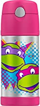 Thermos Teenage Mutant Ninja Turtle Stainless Steel Funtainer Hydration Bottle - 12 Ounce (Pink)