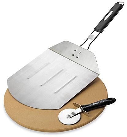 Cuisinart® 3-Piece Pizza Grilling Set - Bed Bath & Beyond