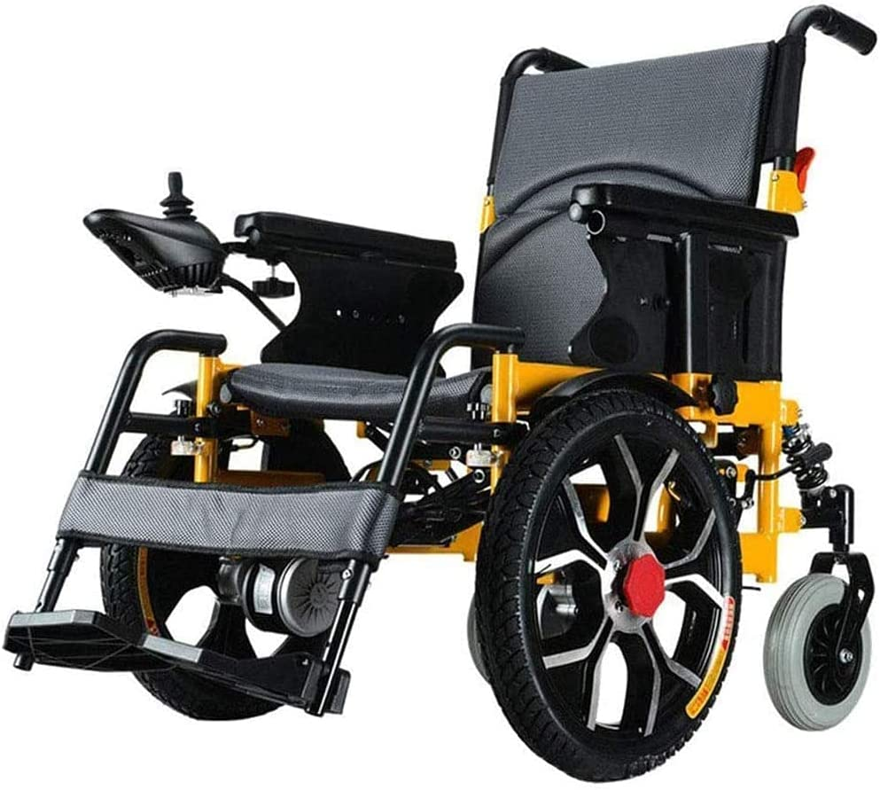 Aluminum Alloy Electric Washington Mall Wheelchair Special Campaign Folding Intellige Lightweight