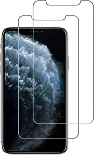 Screen Protector Compatible iPhone XS Max, [2 Pack] Apple iPhone XS Max Tempered Glass Screen Protector Tempered Glass Screen Protector (9H Hardness,3D Touch,Transparent,Most Case Compatible)